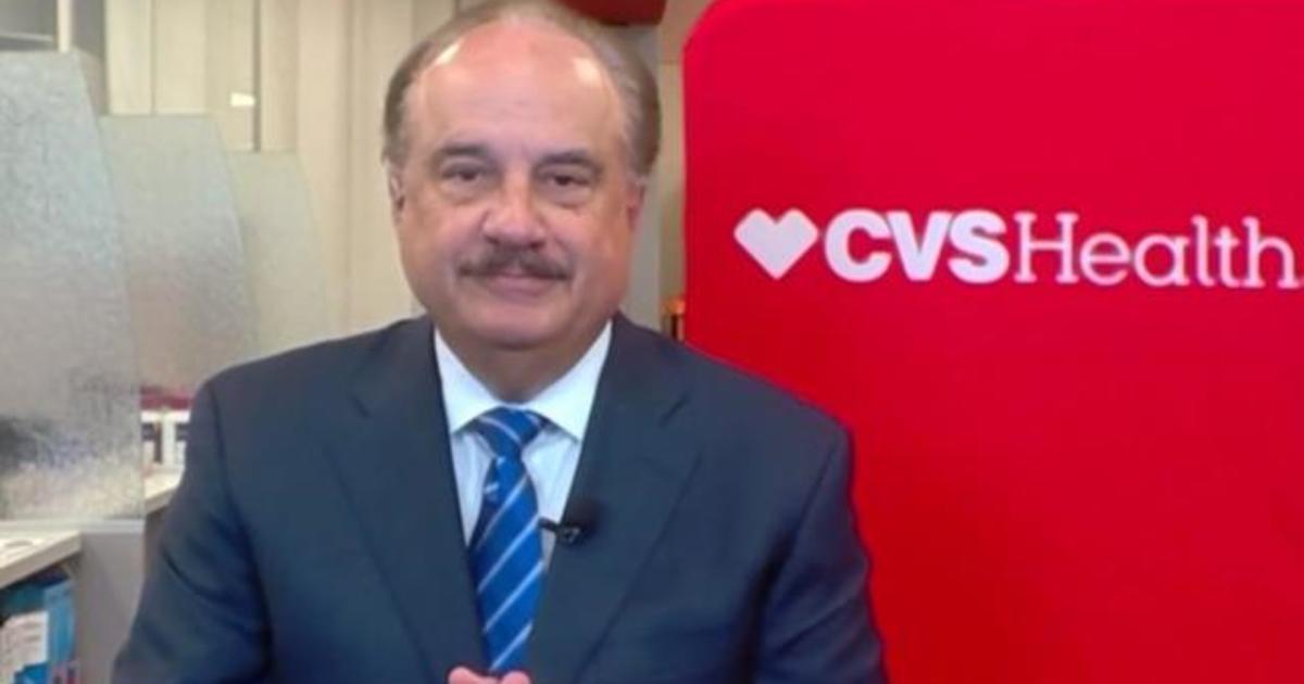 CVS Health CEO says company prepared to quickly begin vaccinations