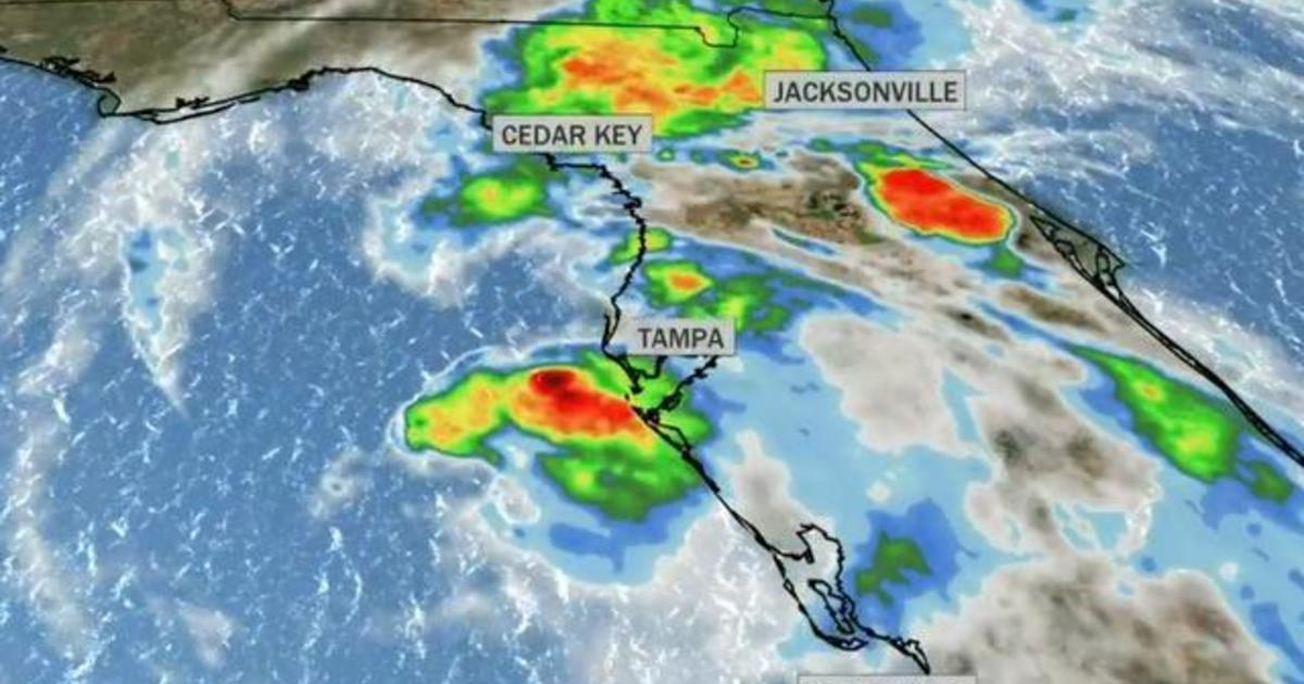 Tropical Storm Eta expected to hit Florida, making its 4th landfall