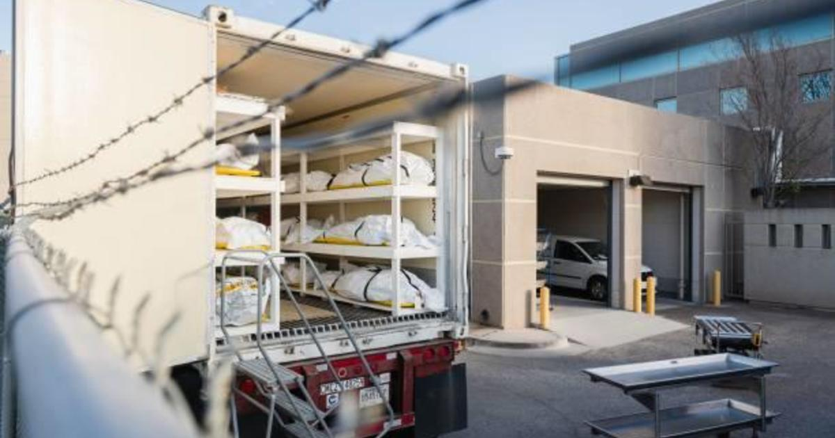 Texas National Guard deployed to help El Paso with morgue overflow