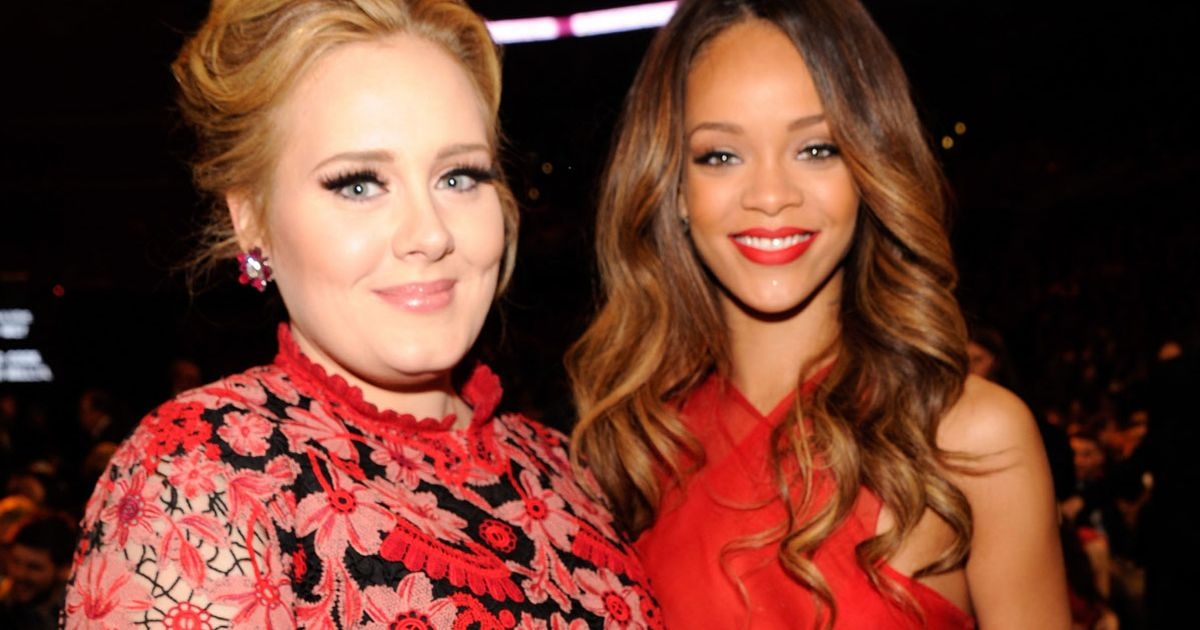 Rihanna says pal Adele is 'confident and happy' after huge 7-stone weight loss