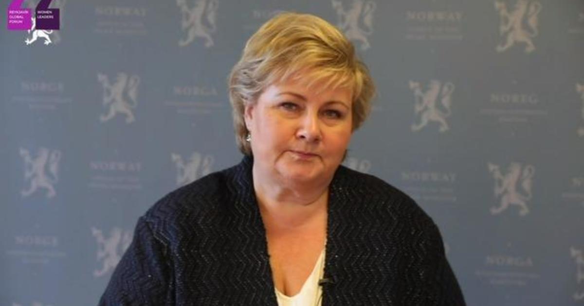 Norway PM delivers keynote at Reykjavík Global Forum