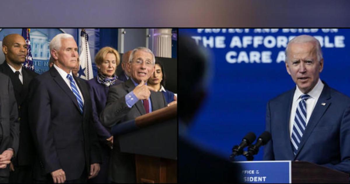 President Trump blocks President-elect Biden's team from White House COVID-19 task force