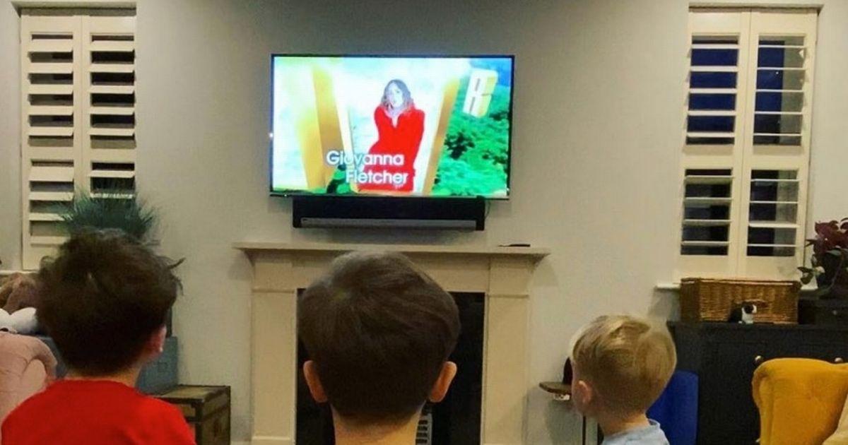 I'm A Celeb's Giovanna Fletcher's kids' sweet response to seeing mum on TV