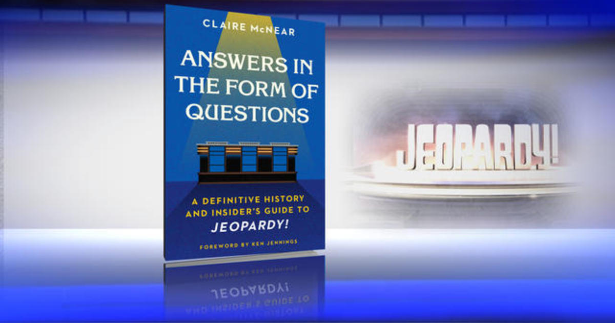 """New book goes behind the scenes of """"Jeopardy!"""""""