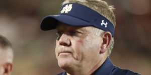 Undefeated Notre Dame remains CFP long shot