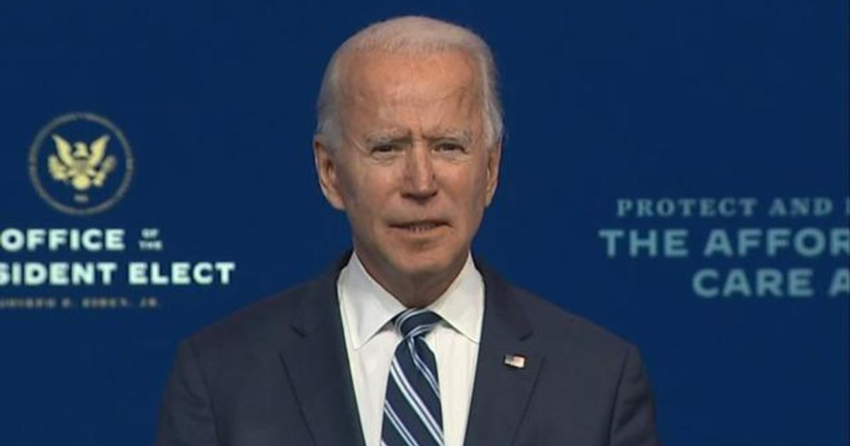 """Biden on Affordable Care Act: """"This doesn't need to be a partisan issue"""""""
