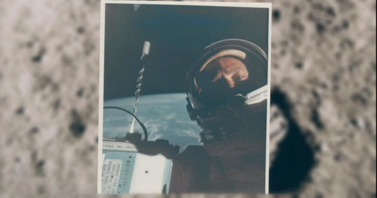 First selfie from space goes up for auction