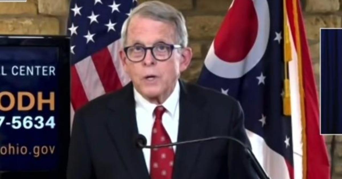 Ohio governor announces curfew amid COVID-19 surge