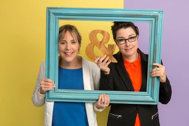 Mel and Sue met at uni and went on to become one of the UK's biggest double acts