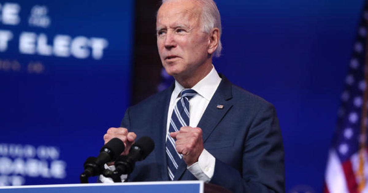 """Biden calls Trump's refusal to concede an """"embarrassment"""" as he moves ahead with transition"""