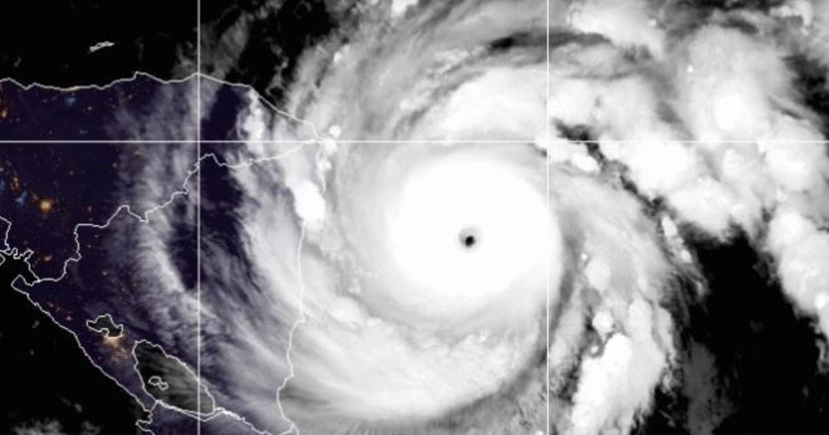 Iota could be Category 5hurricane when it makes landfall