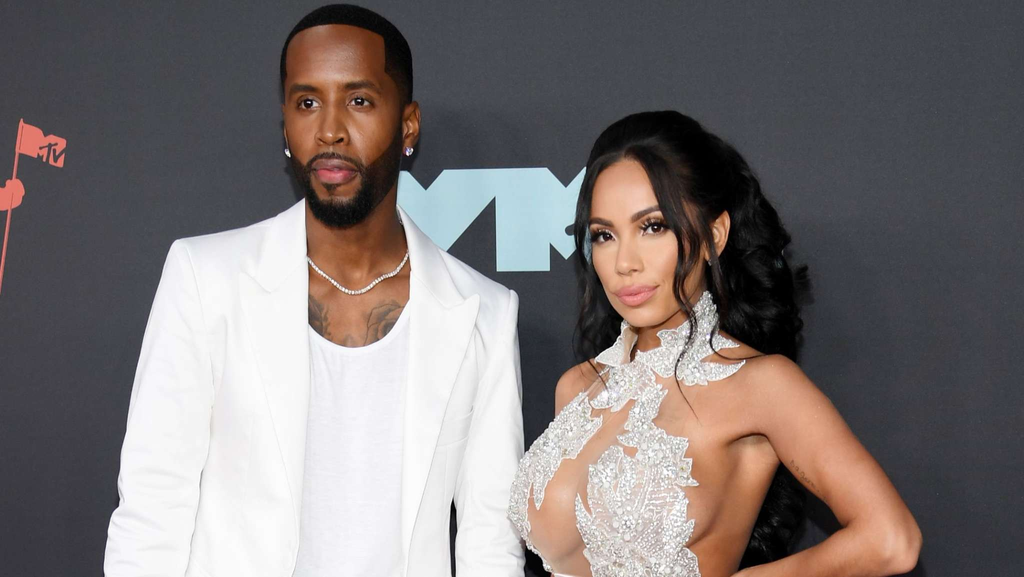 Safaree Drops Gorgeous Pics With Erica Mena And Fans Say They Spotted A Baby Bump!