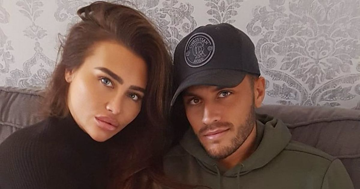 Lauren Goodger moves beau Charles Drury in as she lusts after Christmas proposal