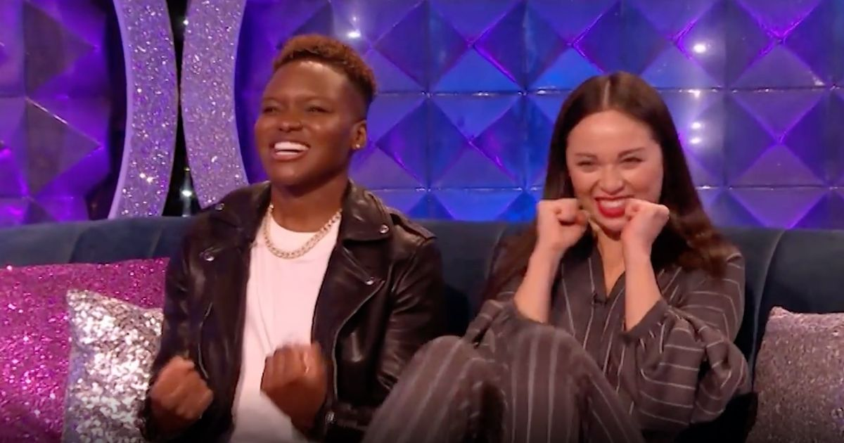 Nicola Adams told partner Katya not to blame herself over sudden Strictly exit