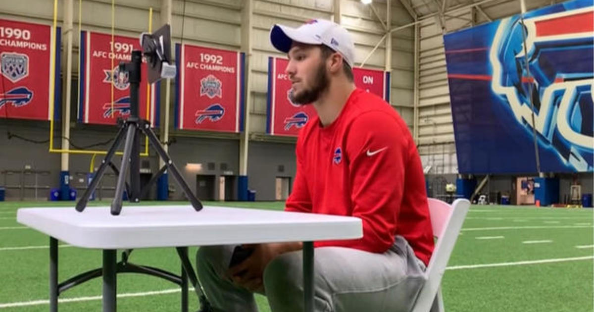 How Bills quarterback Josh Allen's heartbreak led to thousands of dollars raised for cancer