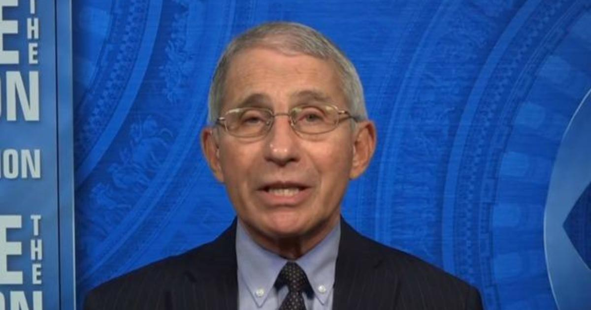 "Fauci says U.S. can ""reasonably quickly"" reach herd immunity if Americans take vaccine"