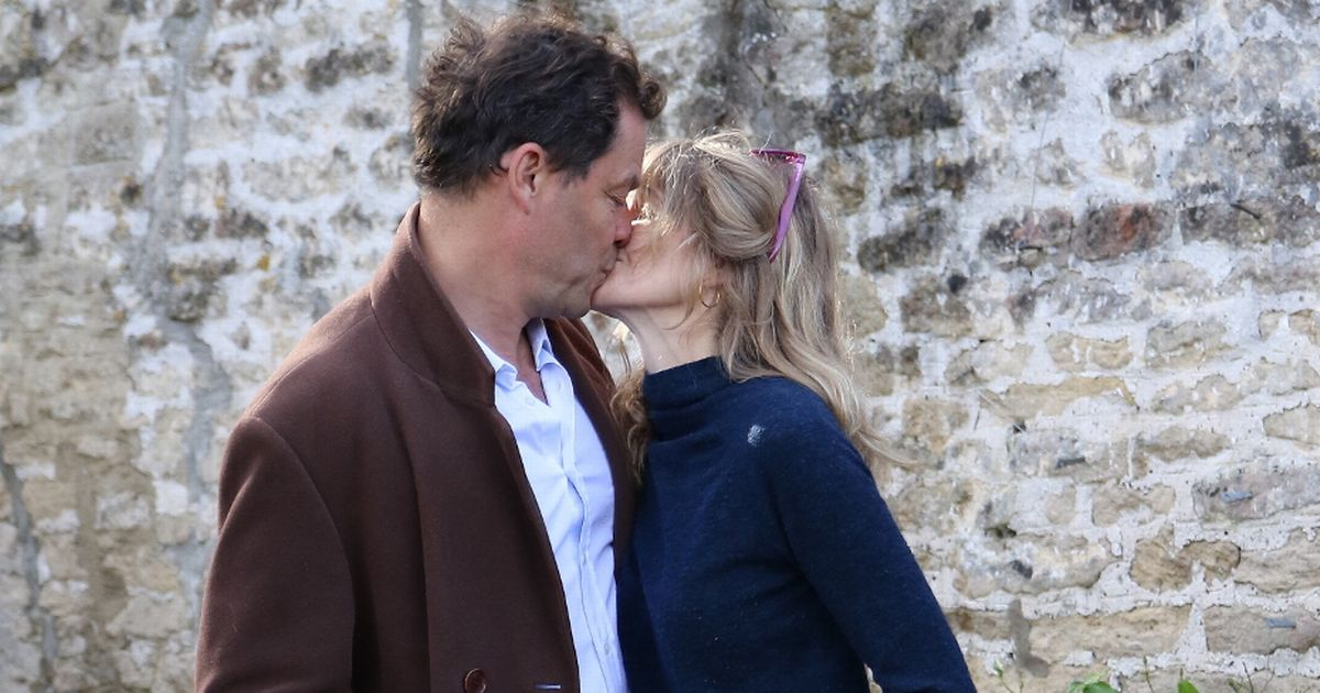 Dominic West's wife speaks out to insist marriage is 'fine' after Lily scandal