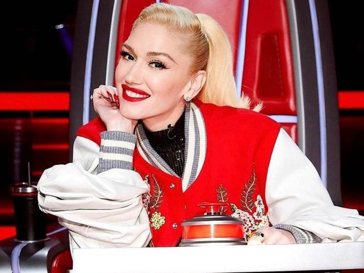 Demand For Gwen Stefani's Red Leather Jacket With Embroidered Flowers Skyrockets After 'The Voice' Episode