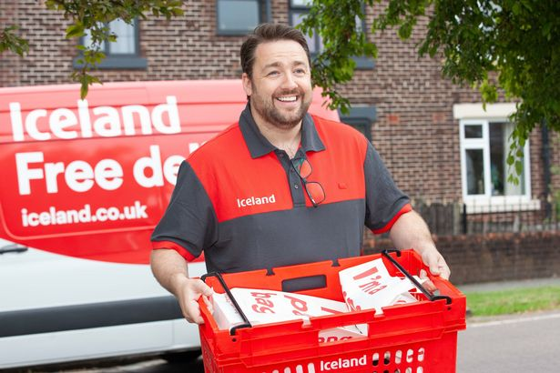 Jason became a delivery driver for Iceland