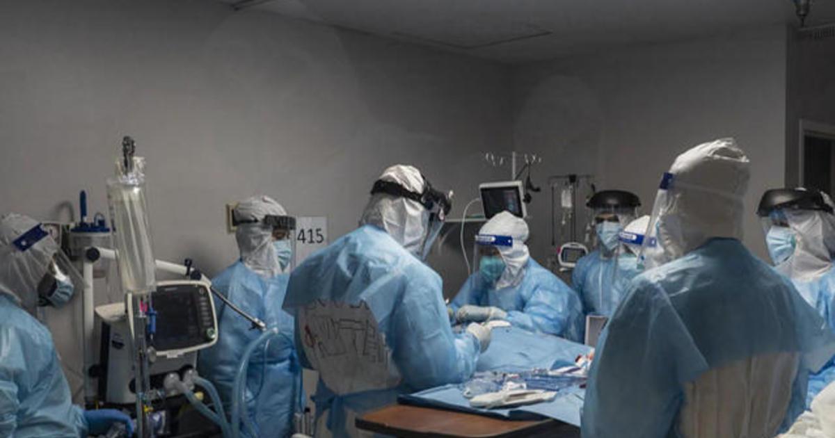Understaffed hospitals battle COVID-19 surge