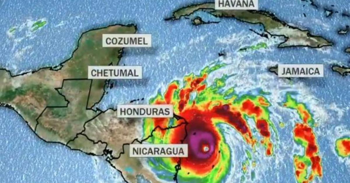 Hurricane Iota upgraded to Category 5 storm as it nears Central America
