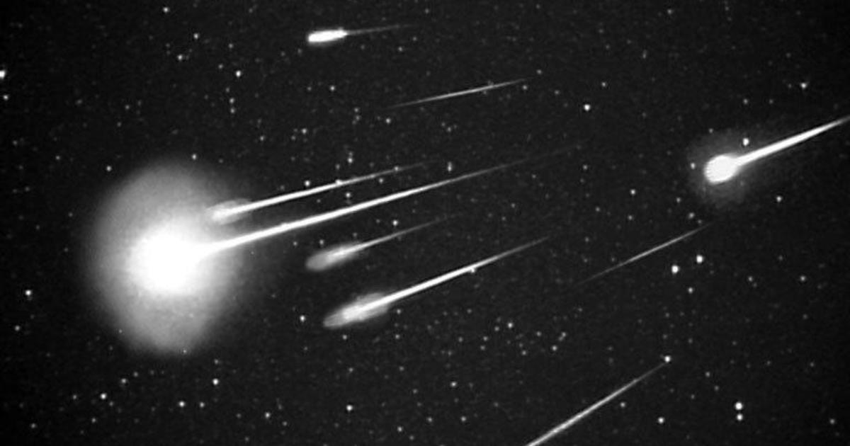 Meteor showers bring shooting stars and fireballs to the night sky