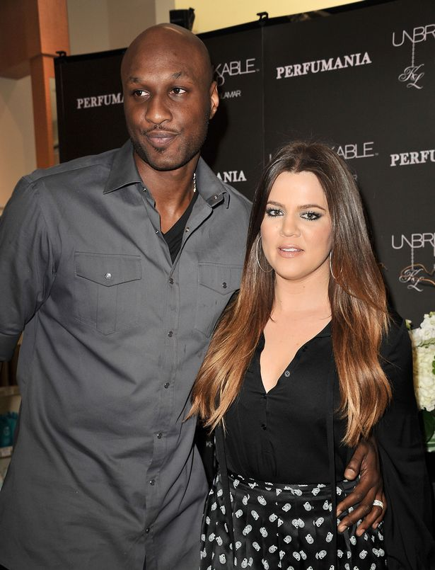 Khloe rushed to Lamar's side as he fought for life in hospital