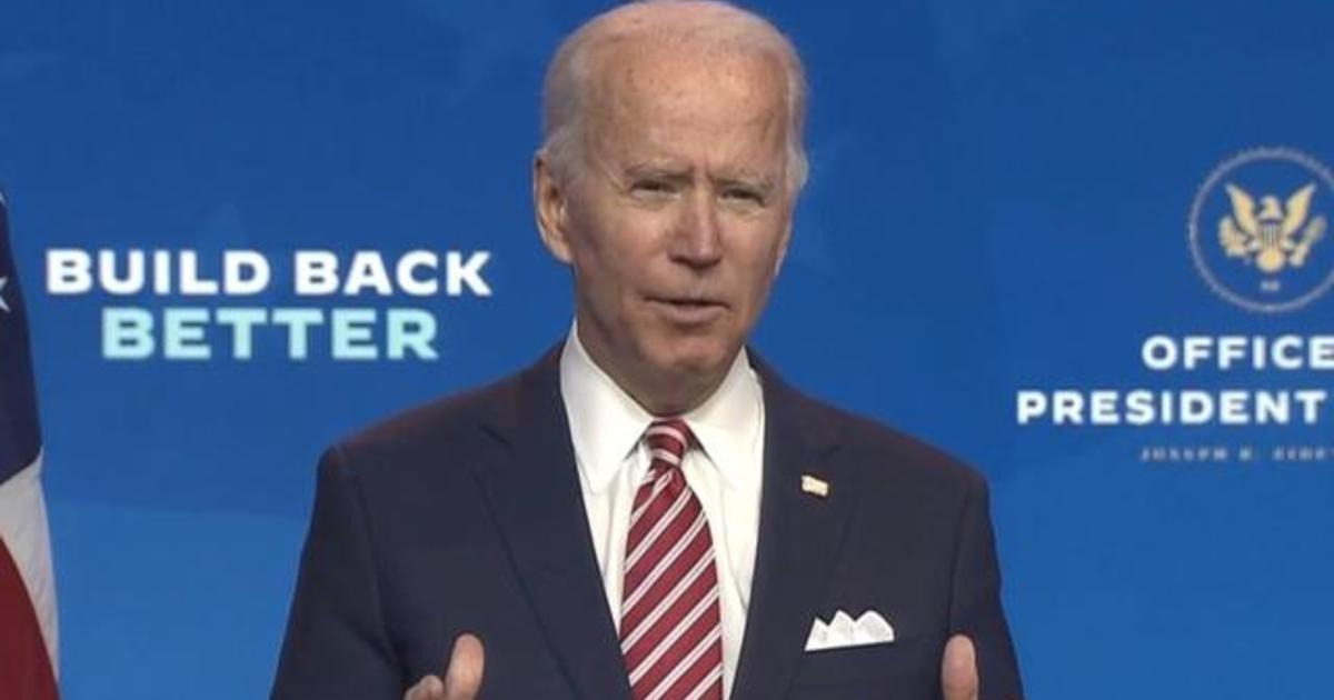 "Biden warns ""more people may die"" without virus coordination"