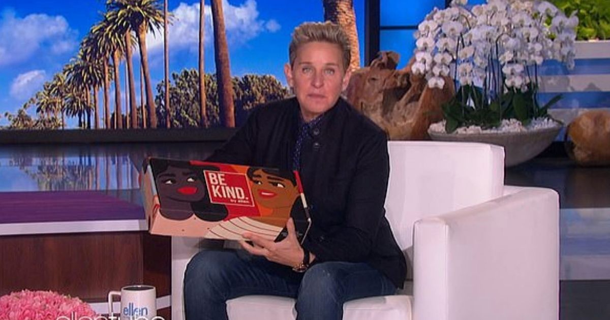 Ellen DeGeneres launches $270 'Be Kind' gift box after toxic workplace scandal