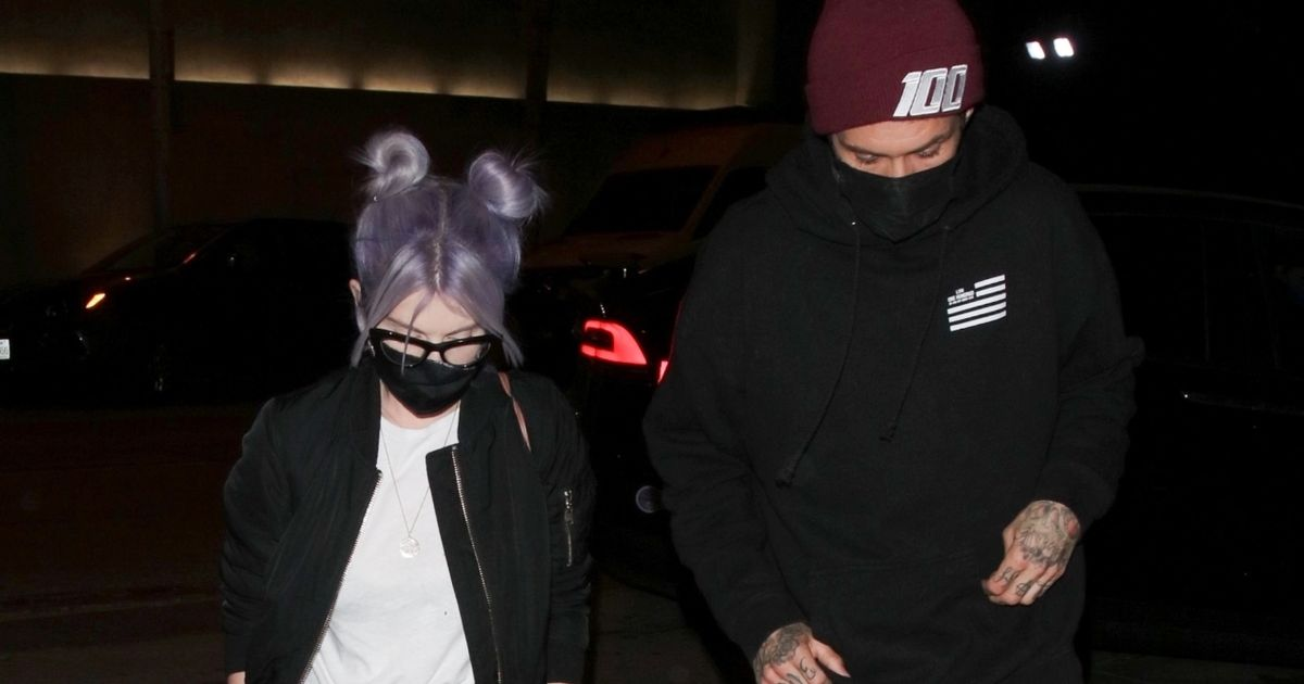 Kelly Osbourne heads out for dinner with mystery man after 6-stone weight loss