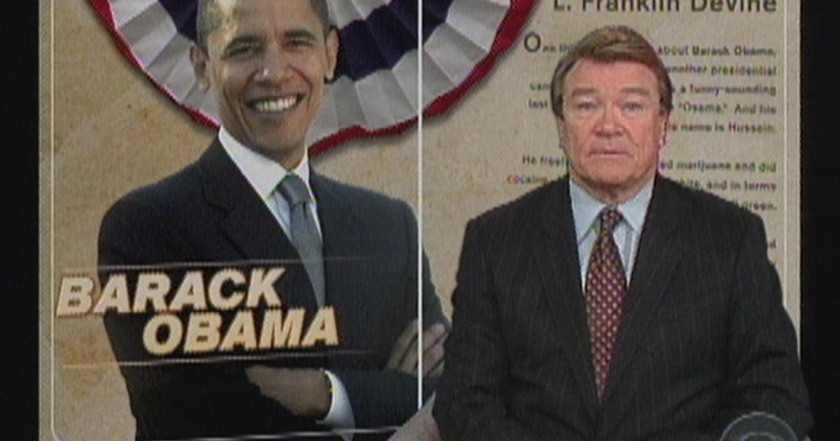 2007: Barack Obama declares his candidacy