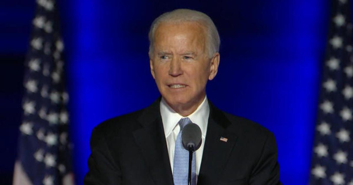 Former Vice President Joe Biden projected winner of 2020 presidential election