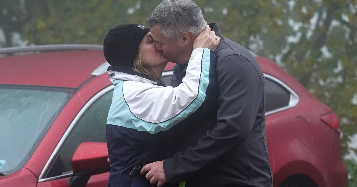 Strictly's Jacqui Smith kisses her new boyfriend during romantic stroll