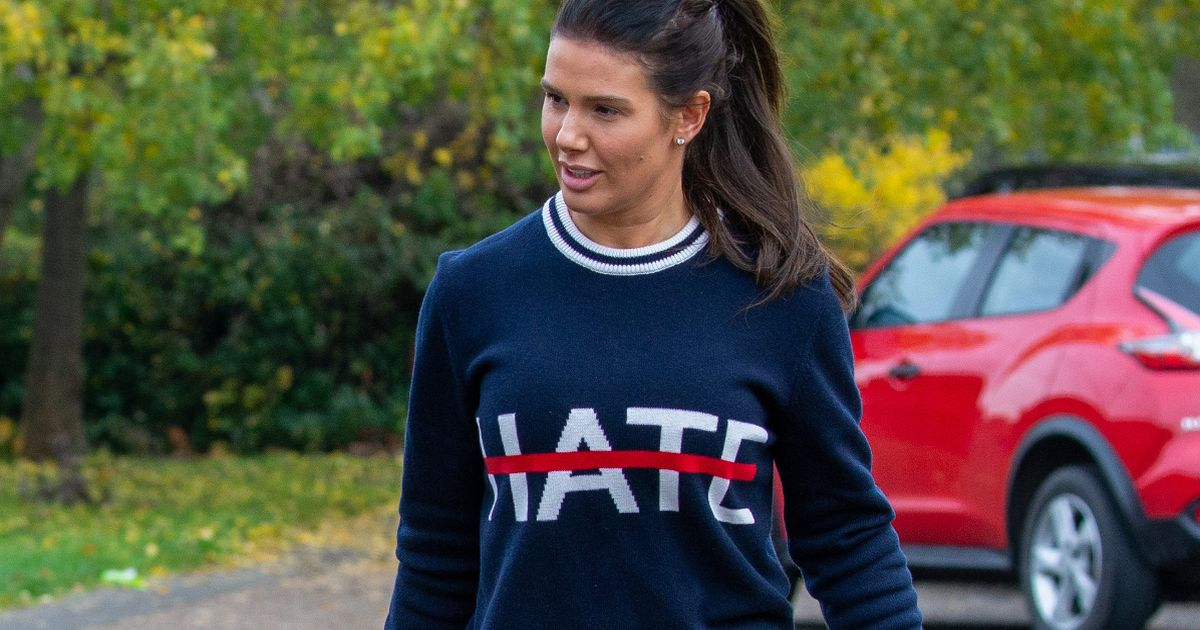 Rebekah Vardy issues not-so-cryptic message to haters with sweatshirt swipe