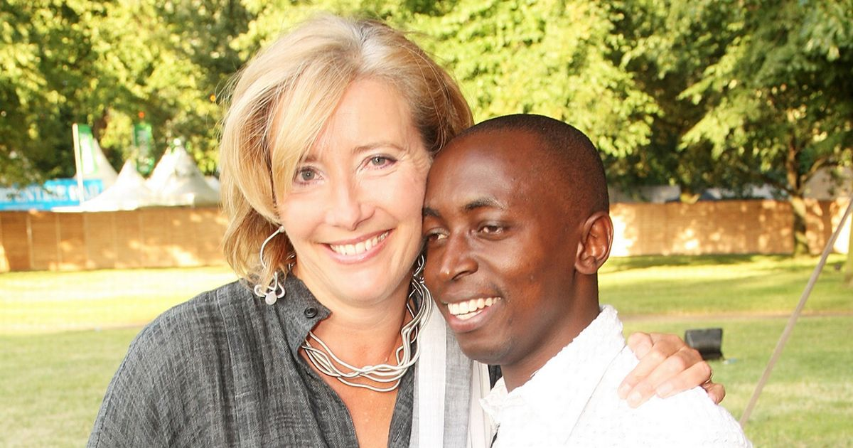 Emma Thompson adopted a child soldier and his life became better than any script