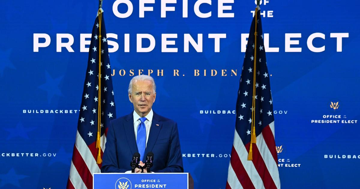 Watch Live: Biden to address the nation after Electoral College votes