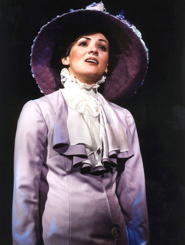 Martine McCutcheon was plagued by illness when she starred in My Fair Lady in March 2001