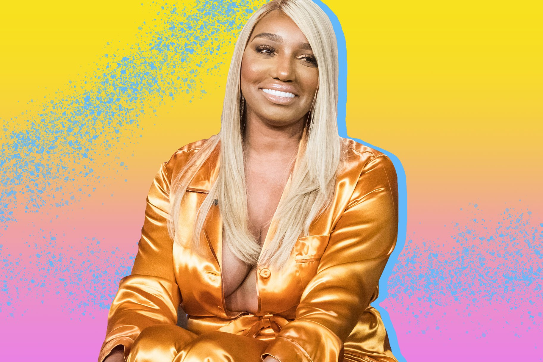 NeNe Leakes Breaks The Internet With Her Saggitarius Energy – She's Flaunting Her Goodies In Blue Lingerie For Her Birthday