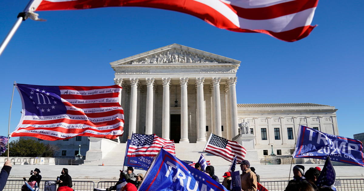 SCOTUS rejects Texas bid to overturn election results in 4 states
