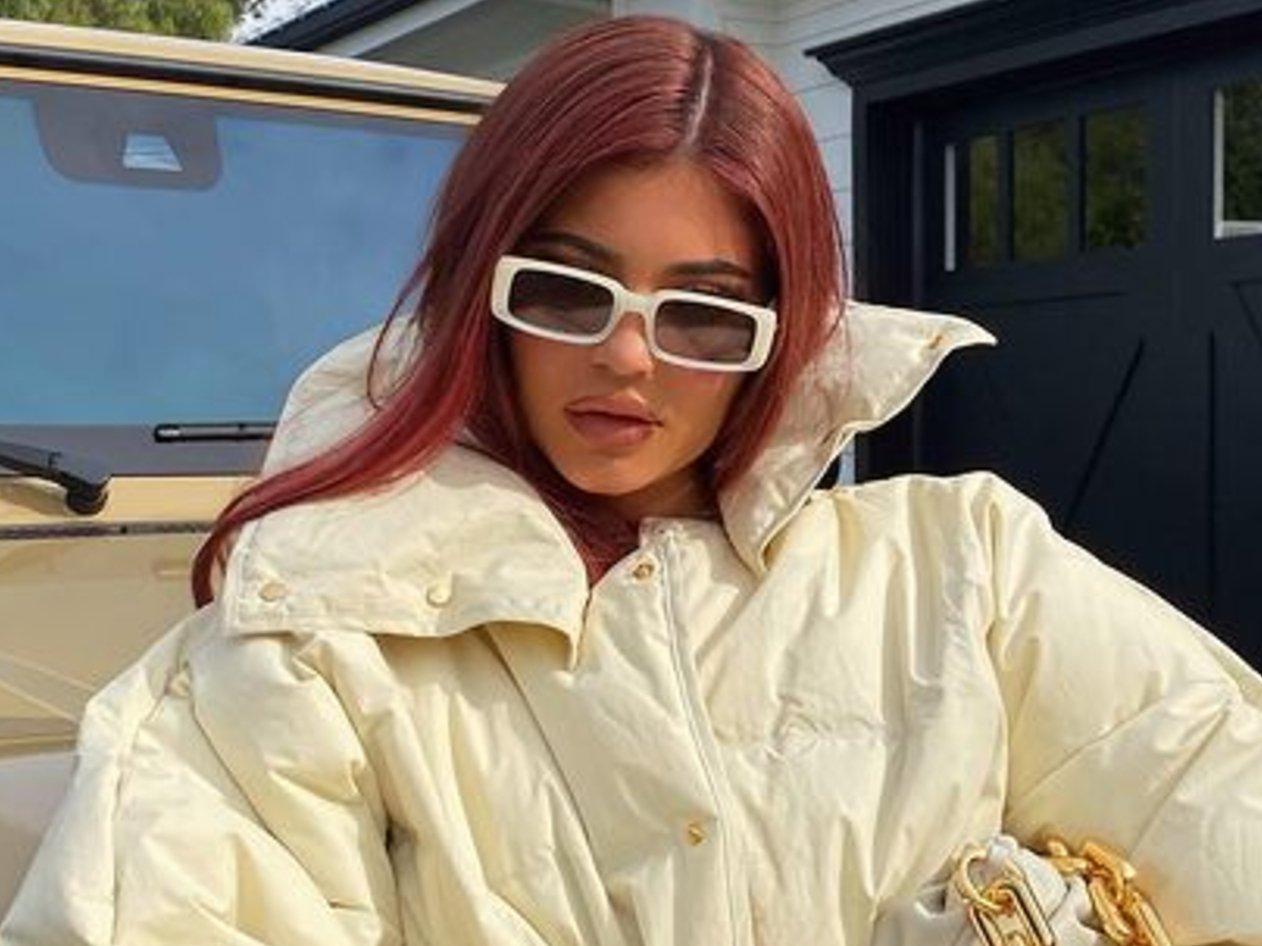 Kylie Jenner Bundles Up In Bottega Veneta
