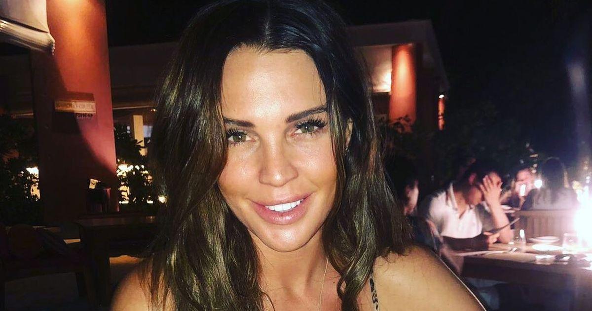 Danielle Lloyd shows off nose job despite vowing to quit plastic surgery