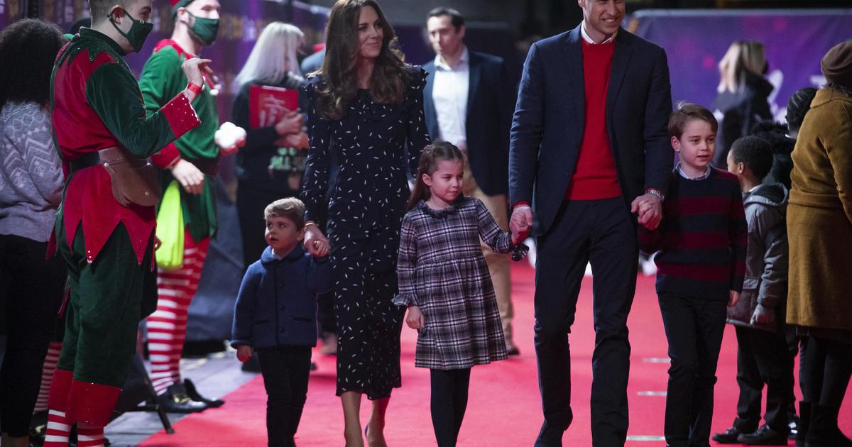 Prince William and Kate Middleton's kids make red carpet debut
