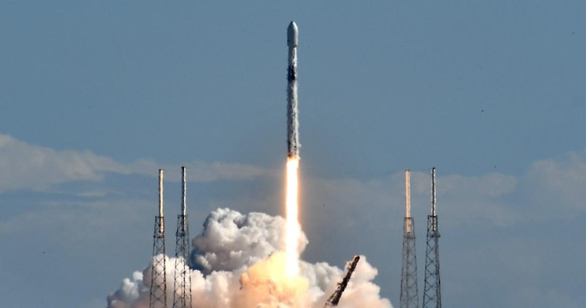 SpaceX launches satellite for SiriusXM