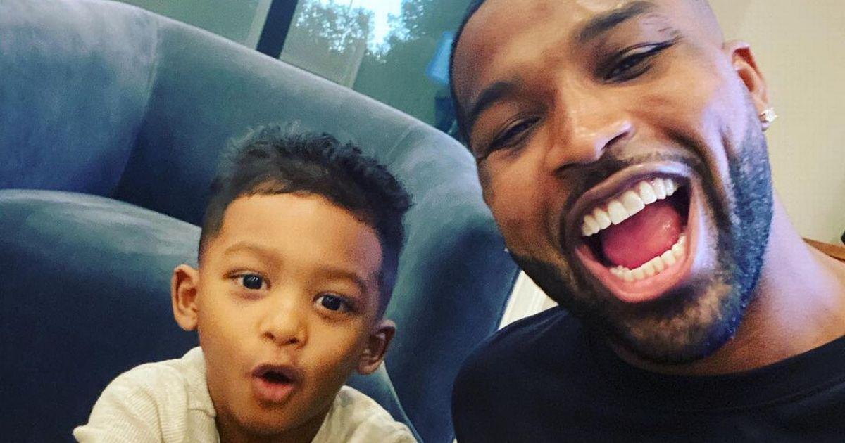 Khloe Kardashian's love Tristan Thompson posts rare snap on son's birthday