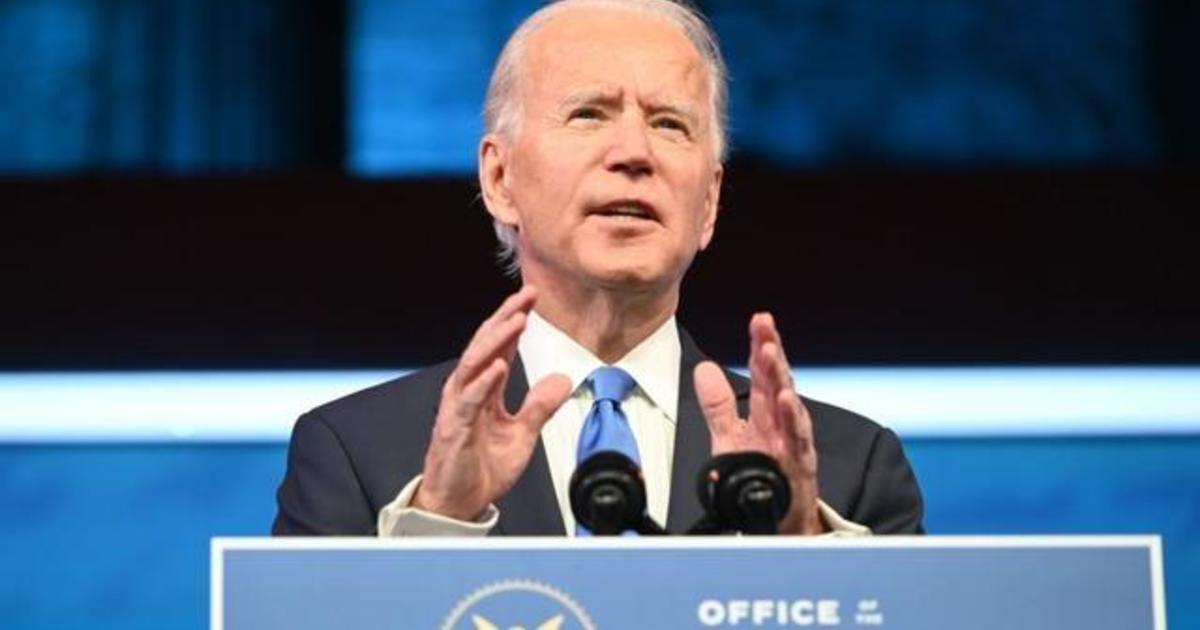 "Biden addresses the nation: ""The will of the people prevailed"""