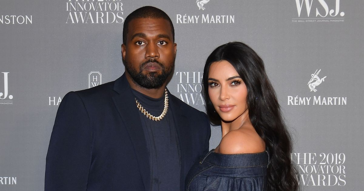 Kim Kardashian 'lives separate life to husband Kanye West' but they're together