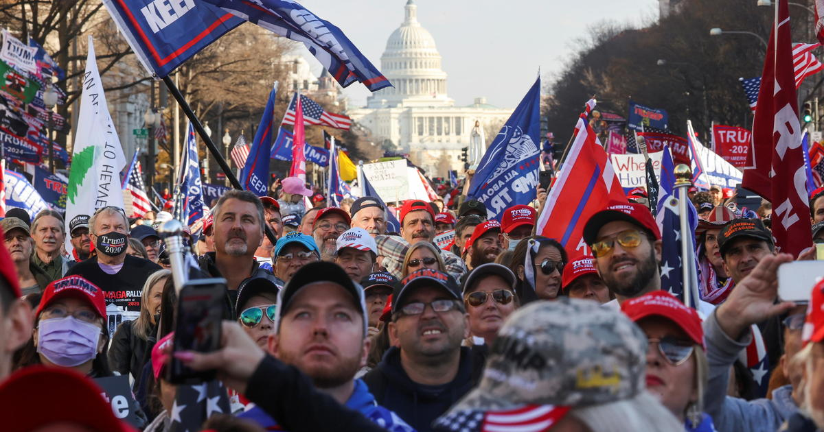 Thousands gather in Washington D.C. to show support for Trump