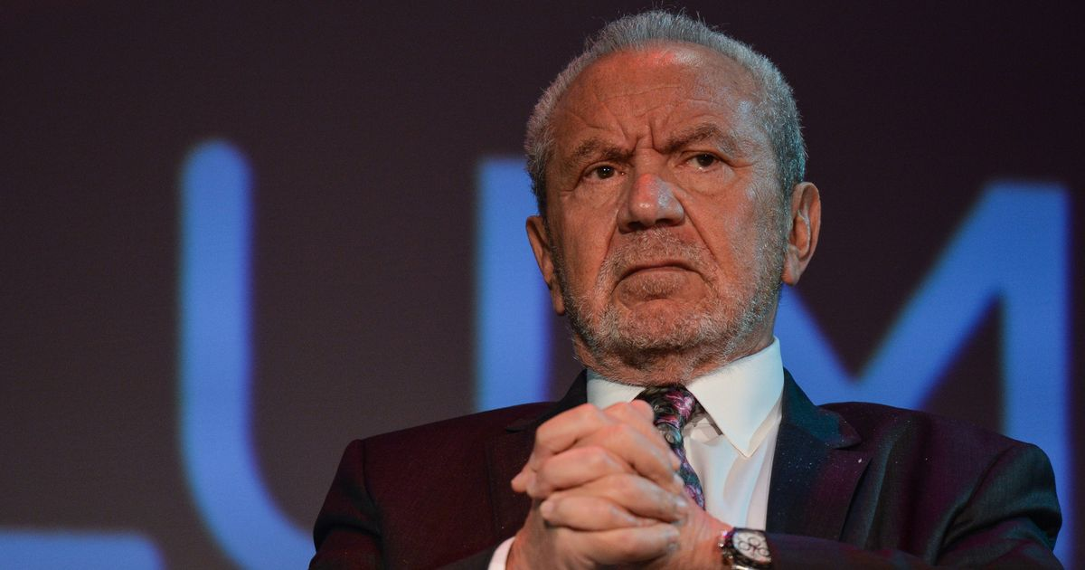 Lord Sugar wages war on Piers and Spencer Morgan after Gerard Houllier spat