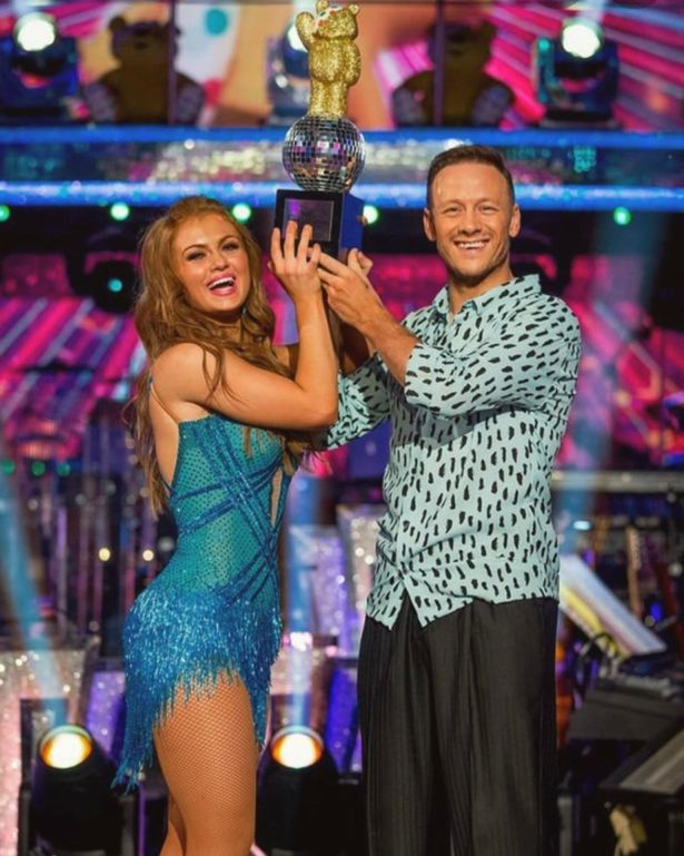 Maisie Smith and Kevin Clifton Strictly Children in Need