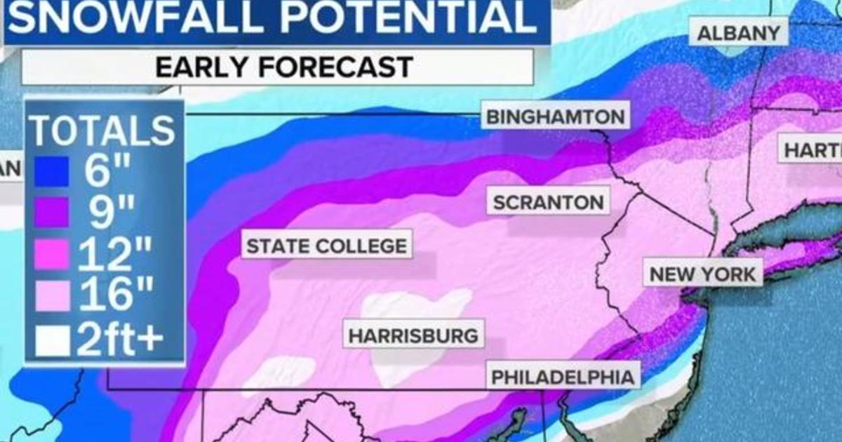Northeast bracing for major snowstorm